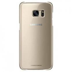 EF-QG935CFE Samsung Zadní Kryt Clear Gold pro G935 Galaxy S7 Edge (EU Blister)