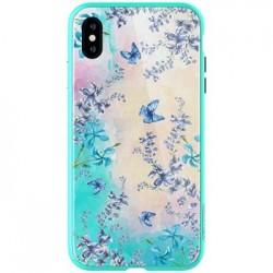 Nillkin Blosssom Hard Case Green pro iPhone XS Max