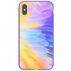 Nillkin Ombre Hard Case Purple pro iPhone XR
