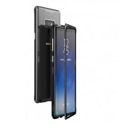 Luphie Magneto Hard Case Glass +Tvrzené Sklo Black pro Samsung N960 Galaxy Note 9
