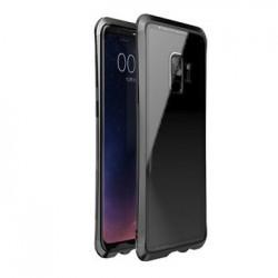 Luphie Double Dragon Alluminium Hard Case Black/Black pro Samsung G960 Galaxy S9