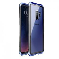 Luphie Double Dragon Alluminium Hard Case Black/Blue pro Samsung G960 Galaxy S9