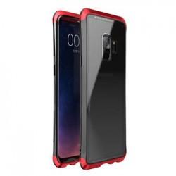 Luphie Double Dragon Alluminium Hard Case Black/Red pro Samsung G960 Galaxy S9