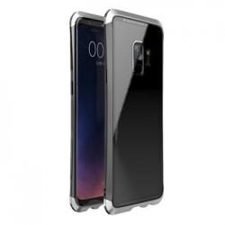 Luphie Double Dragon Alluminium Hard Case Black/Silver pro Samsung G960 Galaxy S9