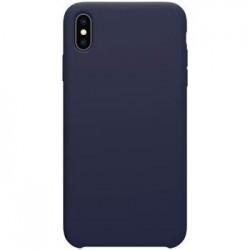 Nillkin Flex Pure Liquid Silikonové Pouzdro Blue pro iPhone XS