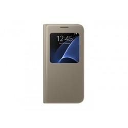 EF-CG935PFE Samsung S-View Pouzdro Gold pro G935 Galaxy S7 Edge (EU Blister)