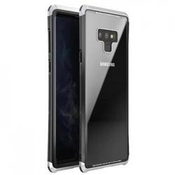 Luphie Double Dragon Alluminium Hard Case Black/Silver pro Samsung N960 Galaxy Note 9