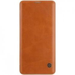 Nillkin Qin Book Pouzdro pro Samsung Galaxy S10+ Brown