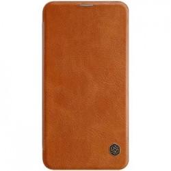 Nillkin Qin Book Pouzdro pro Samsung Galaxy S10 Lite Brown