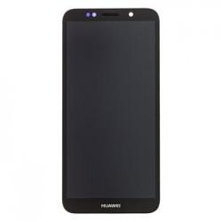 Huawei  Y5 2018 LCD Display + Dotyková Deska + Přední Kryt Black