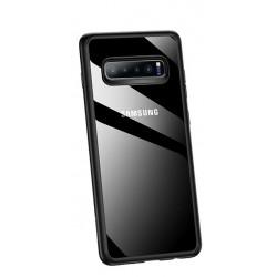 USAMS Mant Zadní Kryt Black pro Samsung Galaxy S10