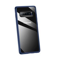 USAMS Mant Zadní Kryt Blue pro Samsung Galaxy S10 Plus