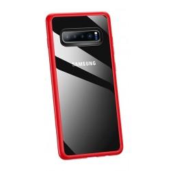 USAMS Mant Zadní Kryt Red pro Samsung Galaxy S10 Plus