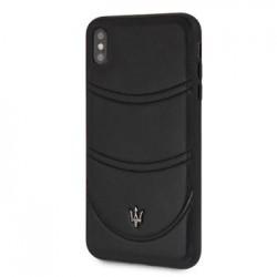 MAGROHCI65BK Maserati Granlusso Hard Case Black pro iPhone XS Max