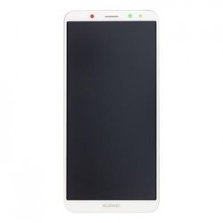 Huawei  Mate 10 Lite LCD Display + Dotyková Deska + Přední Kryt White