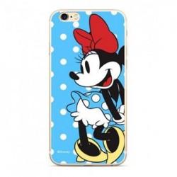 Disney Minnie 034 Back Cover Blue pro Huawei Y5 2018