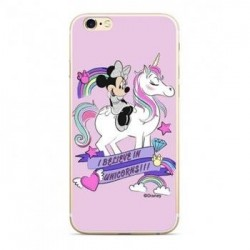 Disney Minnie 035 Back Cover Pink pro Huawei Y5 2018