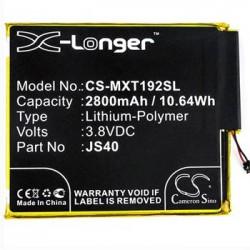 CS-MXT192SL Baterie 2800mAh Li-Pol pro Motorola Z3 Play