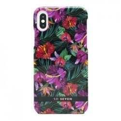 SoSeven Hawai Case Tropical Black Kryt pro iPhone X/XS