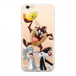 Warner Bros Looney Tunes 001 Zadní Kryt Transparent pro iPhone 7/8