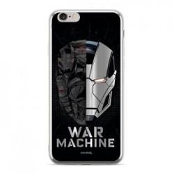 MARVEL Iron Man War 001 Zadní Kryt Silver pro Samsung J415 Galaxy J4+