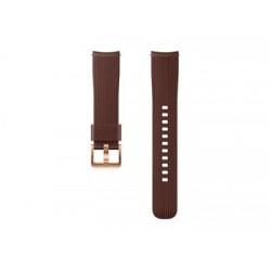ET-YSU81MAE Samsung Watch Silikonový Řemínek 20mm Brown (EU Blister)