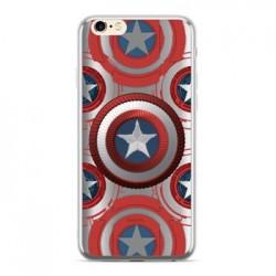 MARVEL Captain America 014 Zadní Kryt Silver pro Huawei Mate 20 Lite