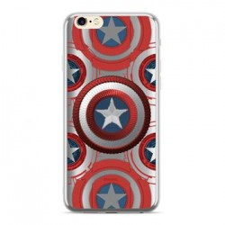 MARVEL Captain America 014 Zadní Kryt Silver pro Huawei P20 Lite