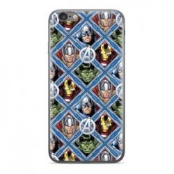 MARVEL Avengers 004 Zadní Kryt pro Huawei Y7 Prime 2018 Multicolored