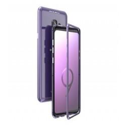 Luphie Magneto Hard Case Glass Purple/Crystal pro Samsung G960 Galaxy S9