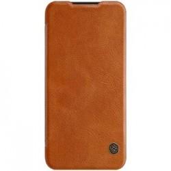 Nillkin Qin Book Pouzdro Brown pro Xiaomi Redmi Note 7