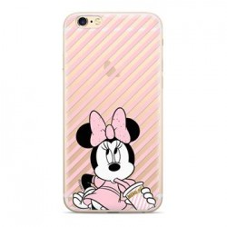 Disney Minnie 017 Back Cover Transparent pro iPhone 5/5S/SE