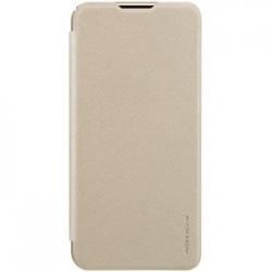 Nillkin Sparkle Folio Pouzdro Gold pro Samsung Galaxy M20