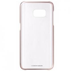 EF-QG930CZE Samsung Zadní Kryt Clear Pink pro G930 Galaxy S7 (EU Blister)