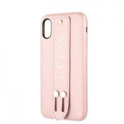 GUHCPXSBSRO Guess Saffiano Strap Pouzdro pro iPhone X/XS Rose
