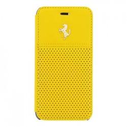 FEGTBGFLBKP6YE Ferrari GTB Book Pouzdro Yellow pro iPhone 6/6S