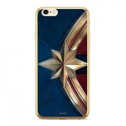 MARVEL Captain Marvel 001 Kryt pro Samsung J415 Galaxy J4+ Gold