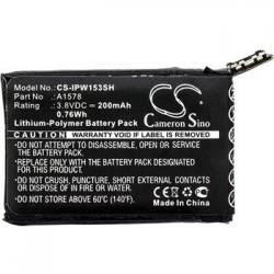 CS-IPW153SH Baterie 200mAh Li-Pol pro iWatch 38mm/42mm