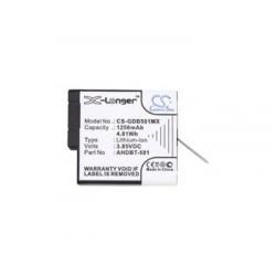 CS-GDB501MX Baterie 1250mAh Li-Ion pro GoPro Hero 5/6/7
