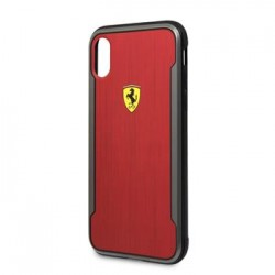 FESPHCPXCBRE Ferrari SF Racking Aluminium Kryt pro iPhone X Red