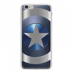 MARVEL Captain America 005 Zadní Kryt pro iPhone XS Silver