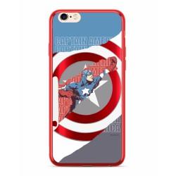 MARVEL Captain America 013 Zadní Kryt pro Huawei Y5 2018 Red