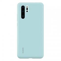 Huawei Original Silicone Pouzdro Light Blue pro Huawei P30 Pro (EU Blister)
