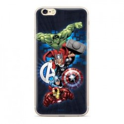 MARVEL Avengers 001 Zadní Kryt pro Huawei Y5 2018 Dark Blue
