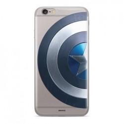 MARVEL Captain America 006 Zadní Kryt pro Huawei Y7/Y7 Prime 2018 Transparent