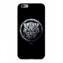 MARVEL Black Panther 015 Premium Glass Zadní Kryt pro iPhone 6/6S Plus Black