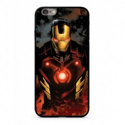 MARVEL Iron Man 023 Premium Glass Zadní Kryt pro iPhone X Multicolored