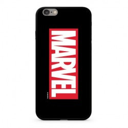 MARVEL 005 Premium Glass Zadní Kryt pro iPhone 6/6S Black