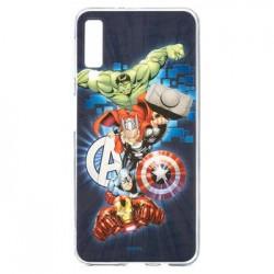 MARVEL Avengers 001 Zadní Kryt pro Samsung A405 Galaxy A40 Dark Blue