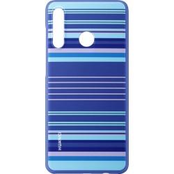 Huawei Original TPU Protective Kryt pro Huawei P30 Lite Blue Lines (EU Blister)